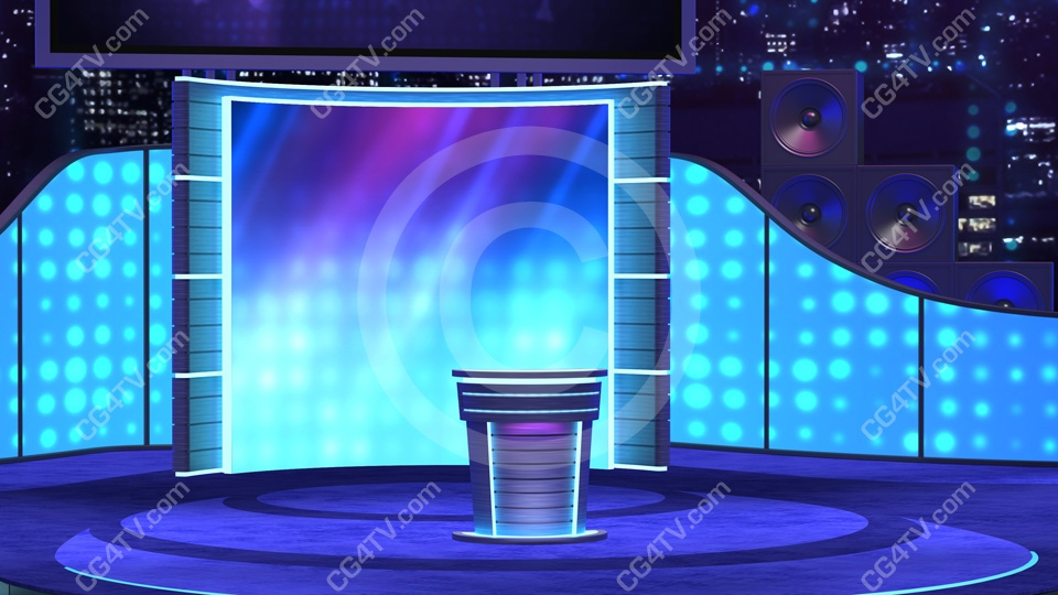 virtual stage background with pulpit c6. Black Bedroom Furniture Sets. Home Design Ideas