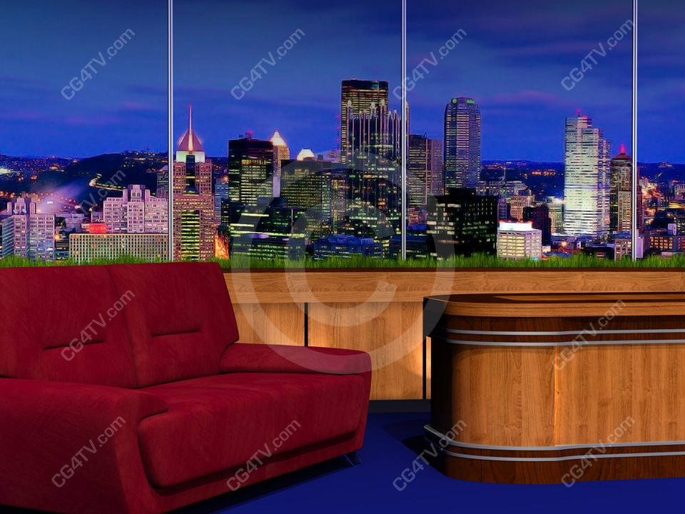Talk Show Set Talk Show Set