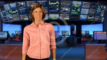Financial News Virtual Set  Large Camera 2