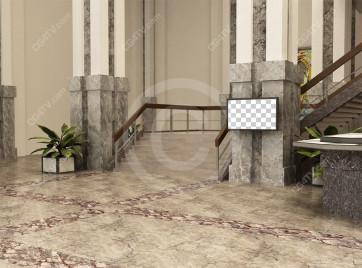 Lobby Virtual Set -- Camera 2