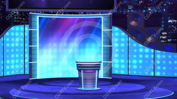 Virtual Stage Set -- C6 high resolution