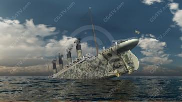 Dollar Titanic Day Image high resolution