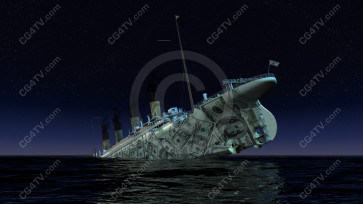 Financial Crisis Images: Sinking Dollar