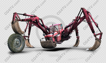 "Monster ""Tractor-Spider-Crab"" high resolution Image"