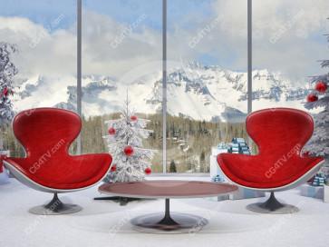 Christmas Virtual Set -- Camera 5