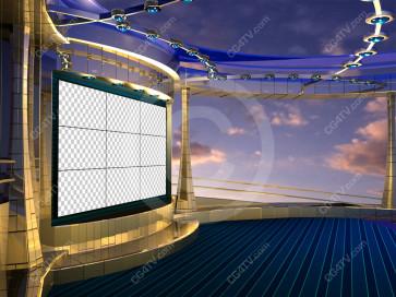 Situation Room Virtual Set Camera 6 high resolution
