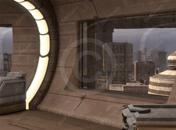 Future City Interior Background -- Camera 12