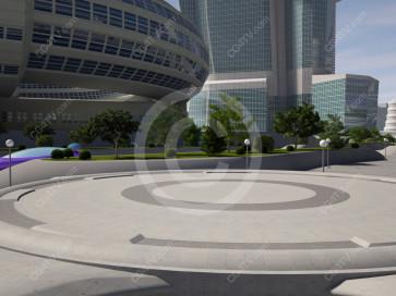 Future City Background -- Camera 11