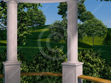 Gazebo Virtual Set -- Camera 10