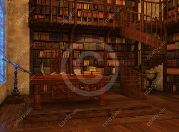 School of Magic Virtual Set -- Camera 5