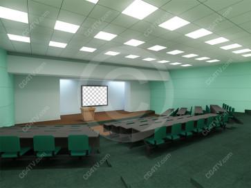 Lecture Virtual Set -- Camera 1