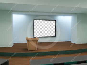 Lecture Virtual Set -- Camera 2