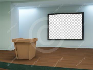 Lecture Virtual Set -- Camera 3