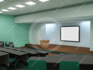 Lecture Virtual Set -- Camera 5
