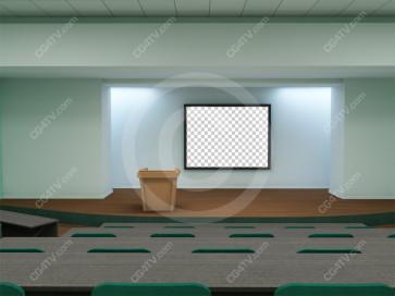 Lecture Virtual Set -- Camera 6