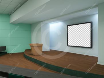 Lecture Virtual Set -- Camera 7
