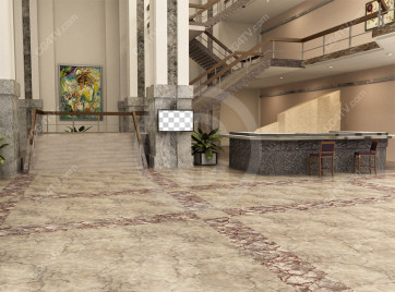 Lobby Virtual Set -- Camera 10