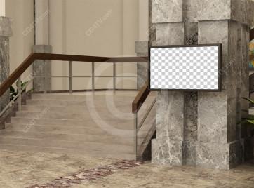 Lobby Virtual Set -- Camera 3