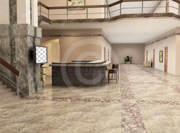 Lobby Virtual Set -- Camera 5