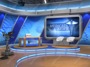 Camera 1. Medical News Set