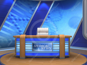 Camera 3. Medical News Set