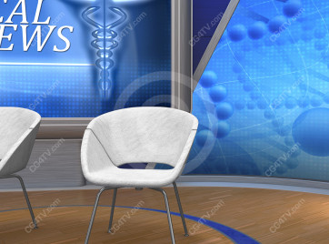 Medical News Virtual Set -- Camera 6