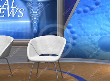 Medical News Virtual Set -- Camera 6