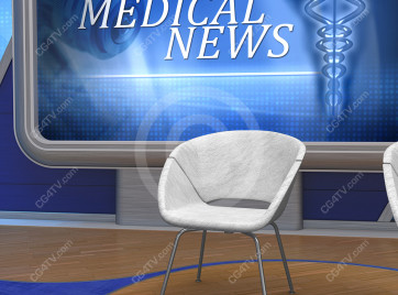 Medical News Virtual Set -- Camera 7