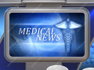 Medical News Virtual Set -- Camera 8