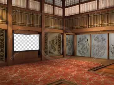 Camera 6. Oriental Background