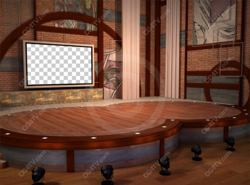 Stage Small Virtual Set -- C12