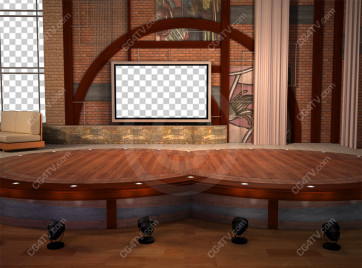 Stage Small Virtual Set -- C9