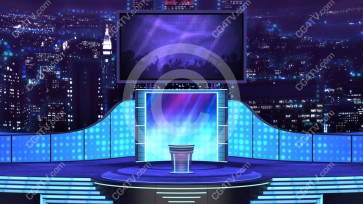 Virtual Stage Set -- C2 high resolution