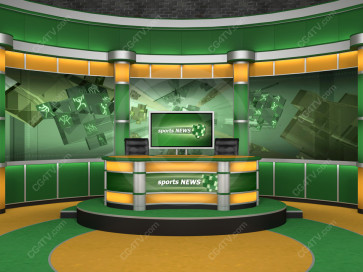 Sport Studio Set Green and Orange