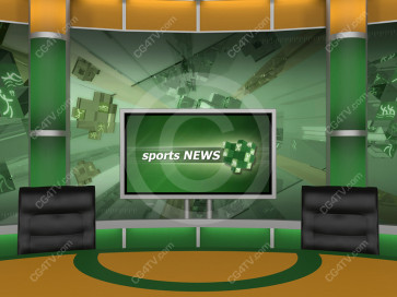 Sport Virtual Studio Set Camera 9 high resolution