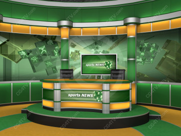 Sport Virtual Studio Set Camera 6 high resolution
