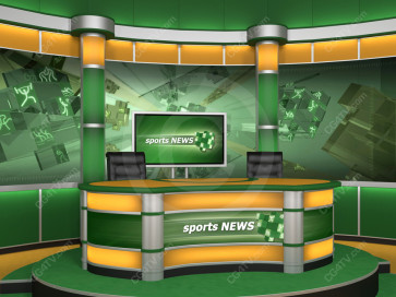 Sport Virtual Studio Set Camera 7 high resolution