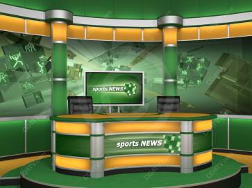 Sport Virtual Studio Set Camera 7 high resolution