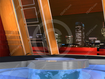US Colors Virtual News Set  Camera 4 high resolution