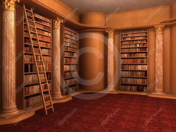 Library Virtual Set -- C2 high resolution