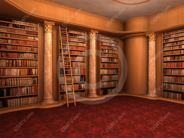 Library Virtual Set -- C4 high resolution
