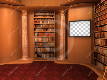 Library Virtual Set -- C6 high resolution