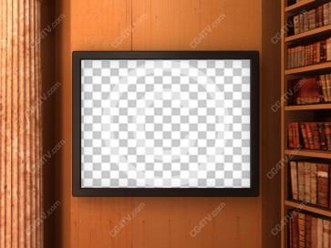 Library Virtual Set -- C9 high resolution