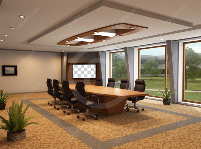 Corporate conference room background - Virtual room designer upload photo ...