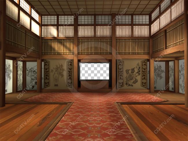 Camera 1 Oriental Virtual Background