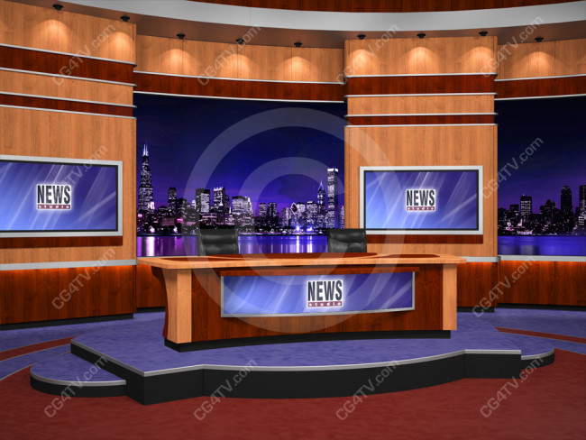Virtual Studio Set