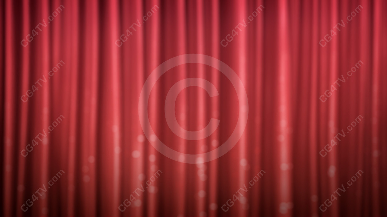 Animated Shiny Curtain Background