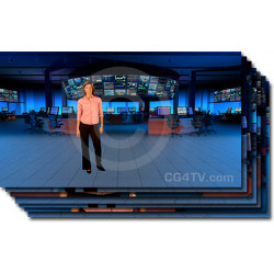Financial News Virtual Set  Preview