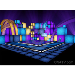 Camera 1. Disco Cubes Stage