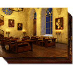 The Old Library of School of Magic